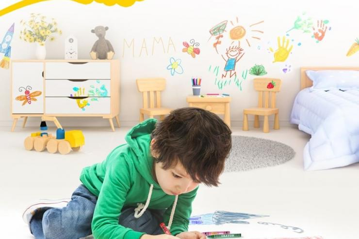 DRAWING WILL BRINGS EMOTIONAL COLORS TO CHILDREN