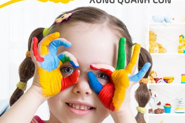 LET COLOR THE WORLD AROUND YOUR CHILDREN