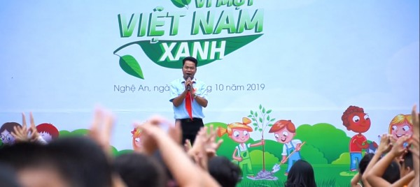 Color Festival 2019 in Nghe An Province - Topic: For A Green Vietnam